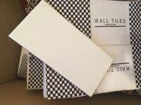 4 BOXES WHITE MATT SUBWAY STYLE TILE