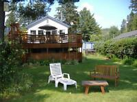 LAKEFRONT LOVELY chalet-Val David available weeks w/es, foliage!