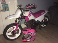 Yamaha pw50 pink