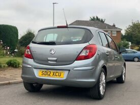 image for VAUXHALL CORSA 1.2 SE LOW MILEAGE 63,000 2012 MANUAL SILVER 5 DOOR LONG M.O.T EXCELLENT CONDITION