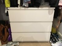 2 matching IKEA chests of drawers in perfect condition