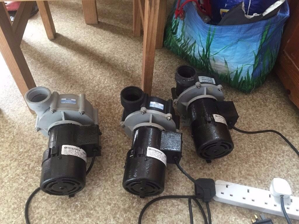 Sequence Pump 12,000lh - Marine & Pond Pumps Koi etc..