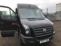 Volkswagen crafter lwb breaking parts available