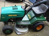 tractor weed eater husqvarna 11,5hp 36 5 speed full drive ready to use