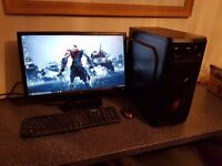 Complete Quad Core Gaming Setup Asrock H61 Matx Motherboard Intel core i5 3570 1155 socket quad