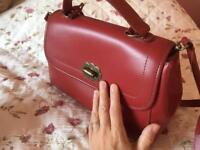 Cath Kidston red handbag