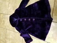 Principles for kids purple fur coat age 5
