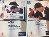 ACCA 2018 P2 corporate reporting Kaplan books