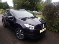 2010 Nissan Qashqai 2.0 diesel Tekna AUTO 4WD Leather, Top of the range
