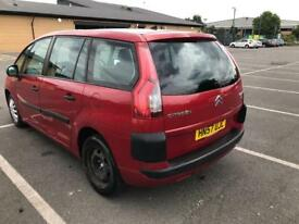 Citroen c4 grand Picasso, automatic, long mot, very clean in and out