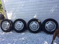 Ford transit connect wheels, tyres, van, 195/65/15