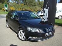 VOLKSWAGEN PASSAT 2.0 TDI Bluemotion Tech SE DSG Auto (black) 2012