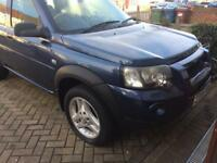 Land Rover freelander 2.0td4 automatic