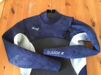 Xcel Womens Wetsuit Axis 4/3 Size 10