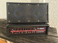 Bargain Bass amp and Speaker