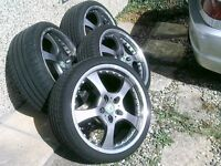BMW FITMENT SET 4 ,,19 INCH ALLOYS,,all new tyers,,