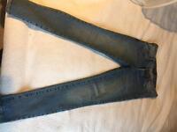 Jeans Bardot slim low rise