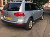 VW TOUAREG SEMI- AUTO 12 MONTHS MOT!! CHEAP BARGAIN QUICK SALE SUV 4x4
