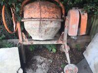 Cement mixer spares or repair
