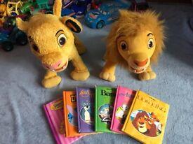 DISNEY STORY BOOKS & Simba, Mufasa