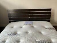 Habitat Barcelona Kingsize Bed with Tencil 1000 Kingsize Mattress