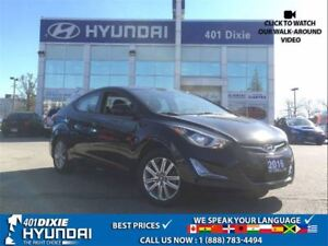 2016 Hyundai Elantra SPORT|1 OWNER|ALLOYS|SUNROOF|HEATED SEATS|