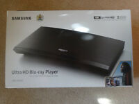 Samsung Ultra HD Blu-Ray Player UBD-K8500 still sealed