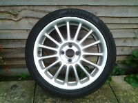 "Used MGR 17 ""Alloy wheel"