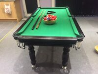 SNOOKER/POOL TABLE 6 by 3ft