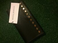 Amanda Wakeley black leather wallet - brand new with tags.