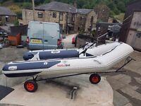 Honwave T38 Rib/Boat with 20hp Honda 4 stroke outboard