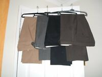 Mens assorted M&S trousers