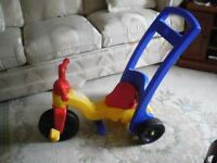 ALL SEASONS FISHER-PRICE UNISEX 3-IN-1CONVERTIBLE TRICYCLE/TRIKE