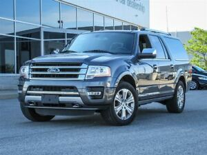 2017 Ford Expedition Platinum MAX|4WD|8 Seats|Heated/Cooled Leat