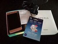 Sony xperia AX mobile phone