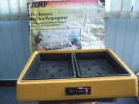 JEMP HEATED ELECTRIC PROPAGATOR FOR TWO SEED TRAYS GOOD WORKING ORDER