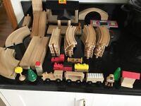 58 pcs Brio Train Track & Accessories