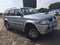 2.5 turbo diesel Shogun Sports 76K mileage fully loaded not navara,hilux,L200,Toyota,Pickup,monster
