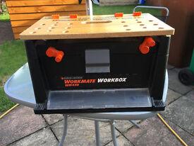 black and decker workmate workbox excellent condition