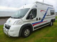2010 Citroen Relay XLWB 2 Berth Camper