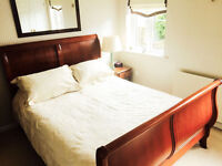Sleigh Bed Frame - Furniture For Sale