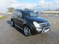 Ssangyong Rexton RX270 SE Xdi Manual, 7 Seater, 2007, MOT Feb 2018.