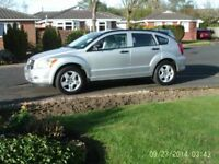 2008 Dodge Caliber SXT 2.0 Auto. Silver. 11 Mths MOT. 43K, Immaculate. 2 family owners.