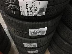 235/55/17 Michelin X-Ice *Winter Tires*