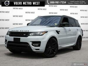 2016 Land Rover Range Rover Sport V8 Supercharged - 5YR/ 160,000
