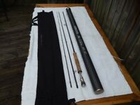 Greys G-Tec. Fly Rod. 9`6`` 7 line wt. in VG condition. Greys top rod