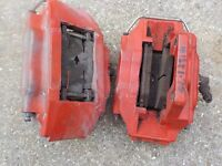 MG TF AP 4 pot front brake calipers, mint, with pads, ideal conversion , £150 pair