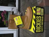 Dickies Safety Rigger Boot S3, Tan Size 12