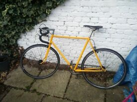 Single Speed Bike with flip flop hub 56cm
