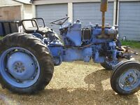 international tractor/restoration project